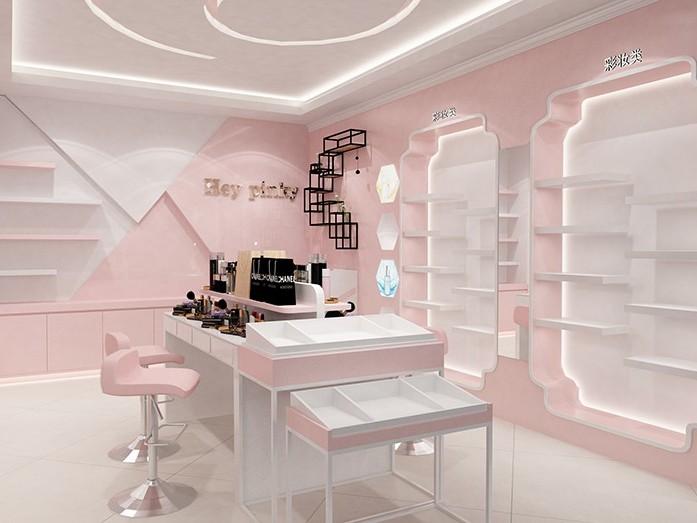 国内外化妆品展柜设计的区别在哪