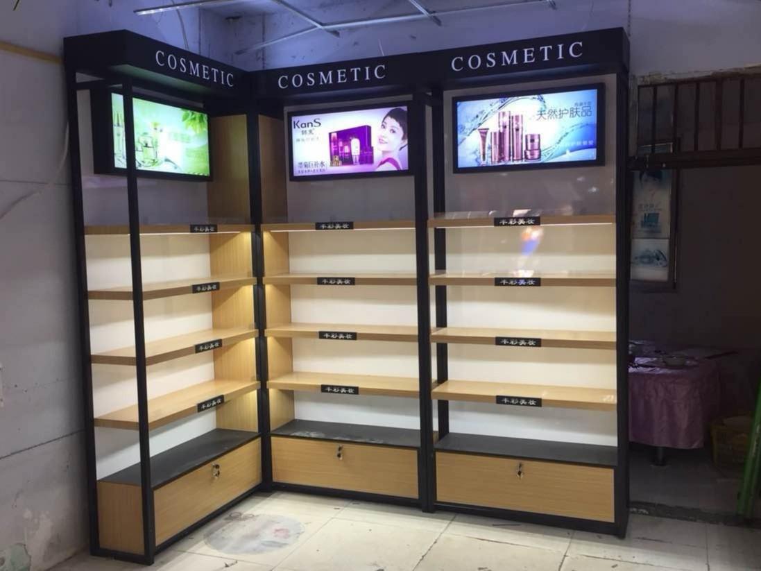 定制化妆品展柜在平时应用的保养方法