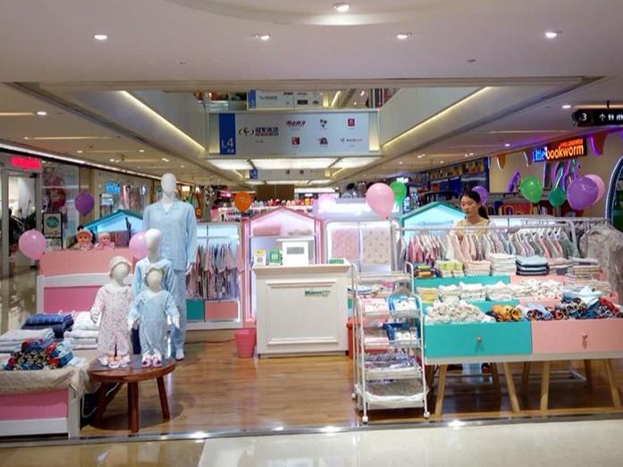 儿童服装展柜设计制作要注意环保