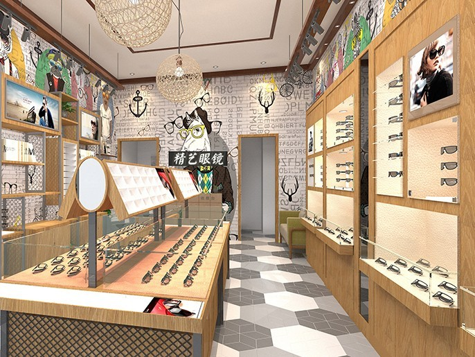 眼镜店装修如何选择设计风格