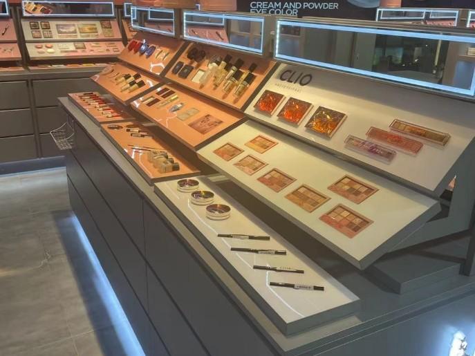 化妆品柜台展示柜