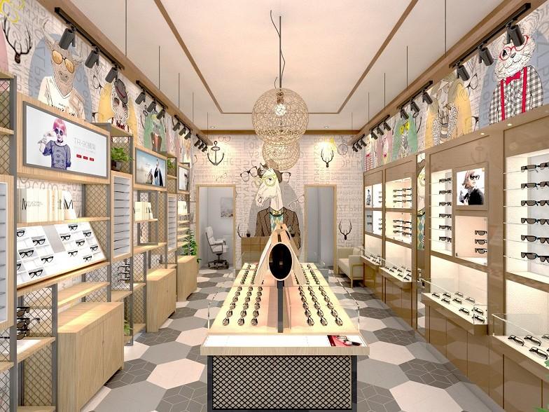 2020年眼镜店装修设计的几种时兴风格