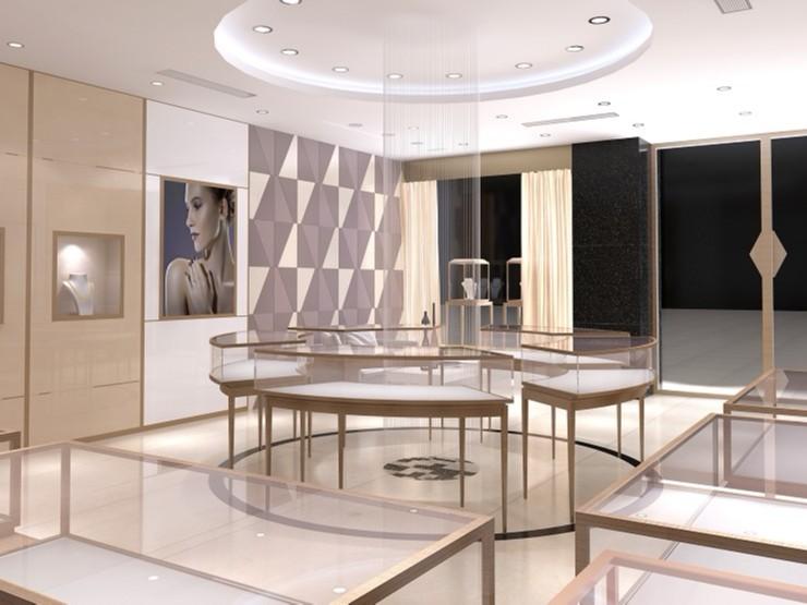 珠宝展柜设计与制作中需要注意的关键点