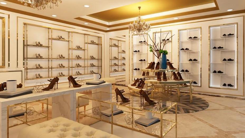 鞋架展示柜