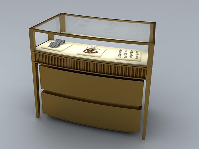 珠宝展柜设计构思